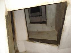volées des escaliers du B 7, très sains