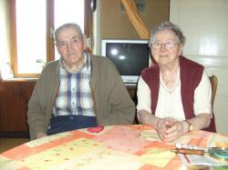 Sergent Maurice MATHIEU et son épouse