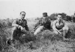 3 Officiers Armée de l'Armistice 1941