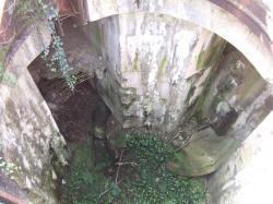 puits feue tourelle M 1933,2 tubes 75mm
